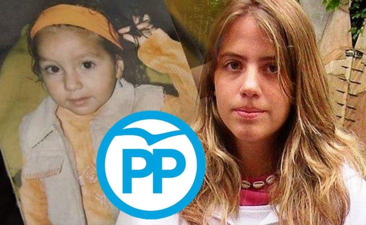 El PP saca a Marta del Castillo y a la pequeña Mariluz en el debate