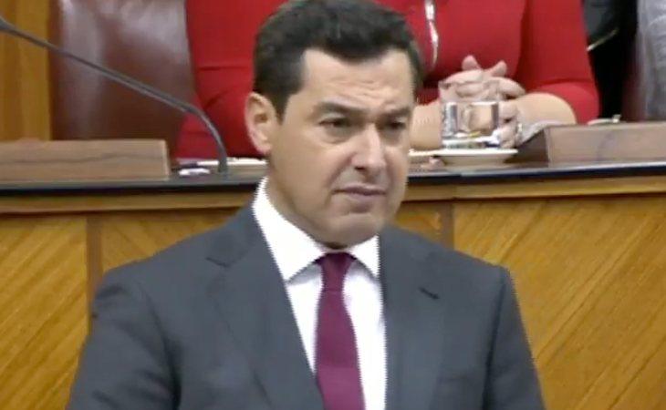Juanma Moreno Bonilla acusa al PSOE de crear confrontación