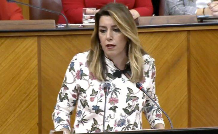 Susana Díaz advierte que el PP traerá un 'gobierno de involución' por su pacto con la extrema derecha