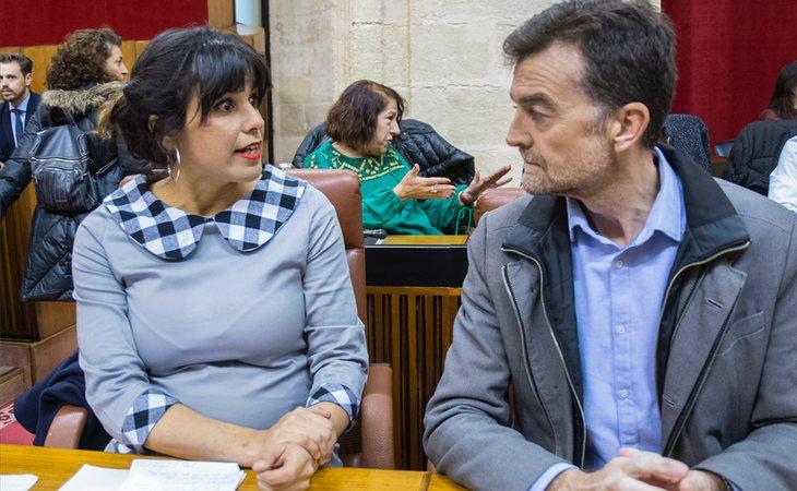 Teresa Rodríguez anuncia el NO de Adelante Andalucía a la investidura de Juanma Moreno Bonilla