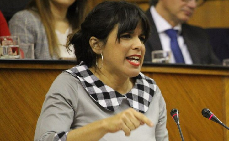 Teresa Rodríguez: 'Es el gobierno de los ricos, de los bancos'