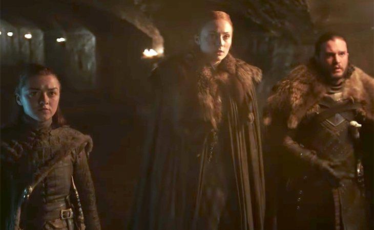 Arya, Sansa y Jon protagonizan el teaser de 'Juego de tronos'
