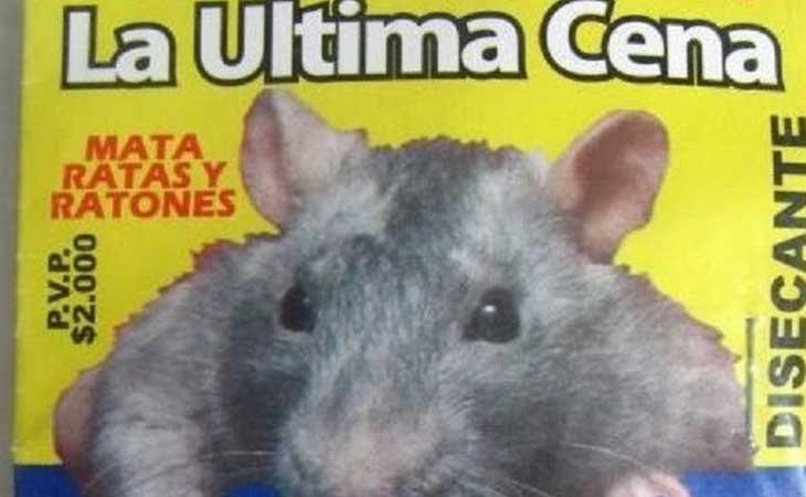 Veneno de rata por no devolverle los tuppers