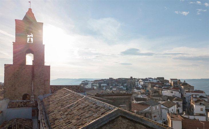 Grottole es un pequeño pueblo al sur de Italia