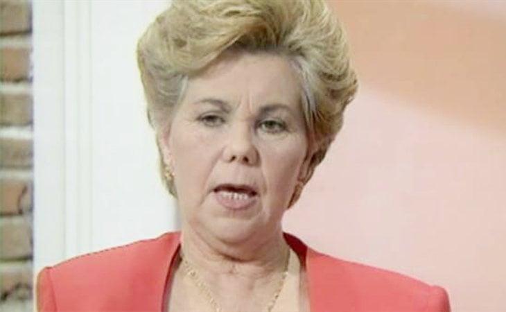 Ana Orantes, primera mujer en contar su experiencia de malos tratos en televisión