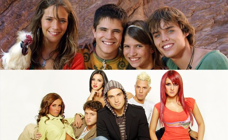 'Erreway: 4 caminos' (arriba) y 'RBD: La familia' (abajo)