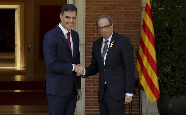 Pedro Sánchez necesita el apoyo del independentismo para agotar la legislatura