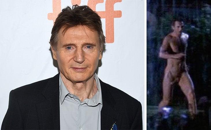 Liam Neeson mostró su cuerpo en 'El silencio de la sospecha'