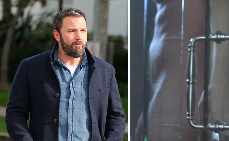 Ben Affleck tuvo un fugaz desnudo en 'Perdida'