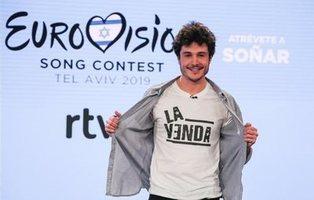 """Miki Nunyez (Eurovisión 2019): """"Solo se me ocurre disfrutar y aprender de lo que viene"""""""