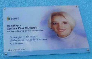 Boicotean la placa en recuerdo a Sandra Palo solo dos días después de su estreno