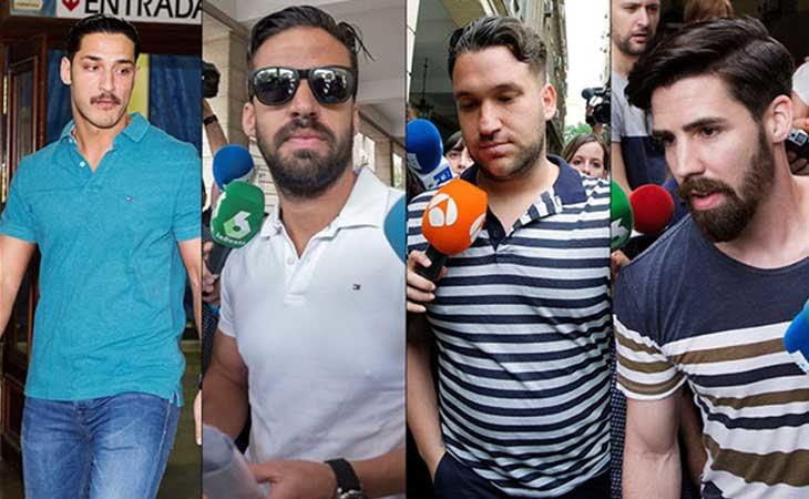 Los cuatro integrantes denunciados por la chica de Pozoblanco