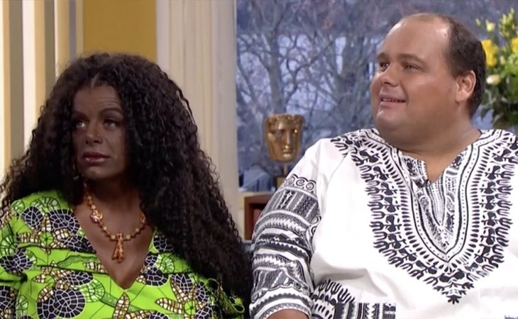 Martina Big y su marido en el programa 'The Morning'