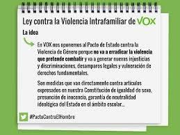 Ley contra la violencia intrafamiliar de VOX
