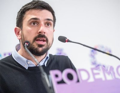 Ramón Espinar dimite como líder de Podemos en Madrid