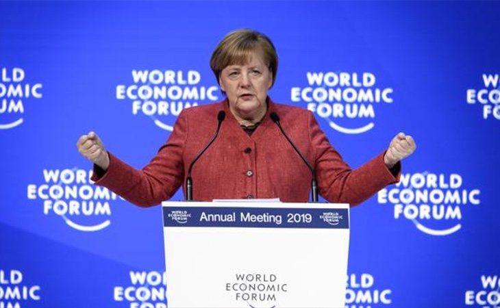Angela Merkel es la principal impulsora de la postura equidistante con la oposición venezolana