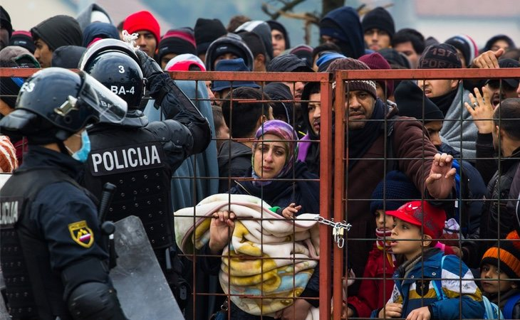 La cruda realidad de los refugiados sirios