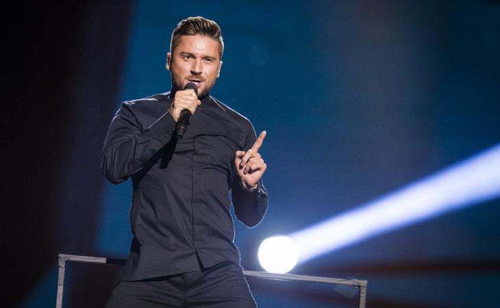 Sergey Lazarev fue tercero en Eurovisión