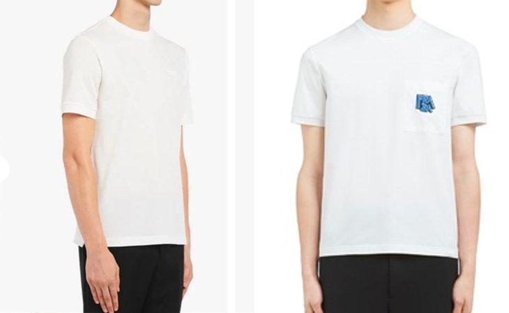 310 euros por una camiseta básica y 560 por incluir el logo