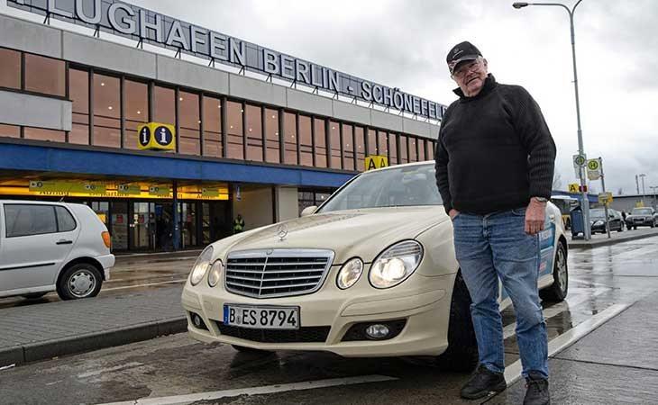 Taxista alemán