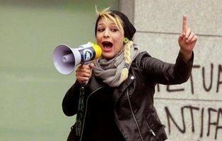 La Fiscalía pide tres años de cárcel para la líder del grupo neonazi Hogar Social Madrid