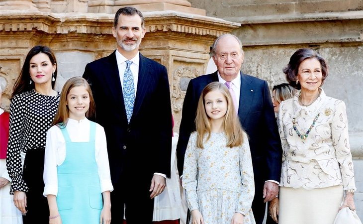 La Familia Real en 2018
