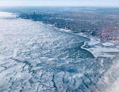 Las impresionantes imágenes que deja la ola de frío extremo que azota Estados Unidos