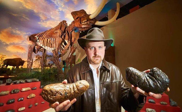 Así son las heces fosilizadas