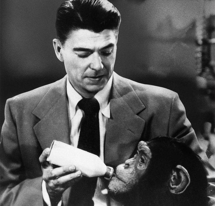 Ronald Reagan terminó convirtiéndose en presidente de los Estados Unidos