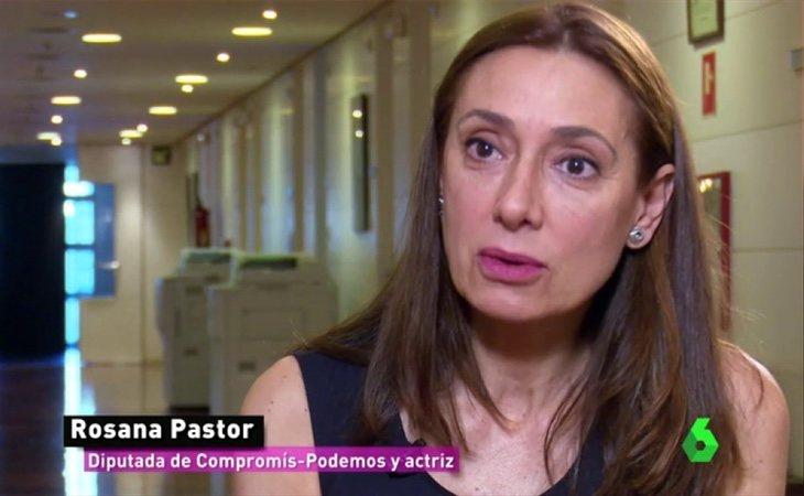 Rosana Pastor ejerce actualmente como diputada por Unidos Podemos