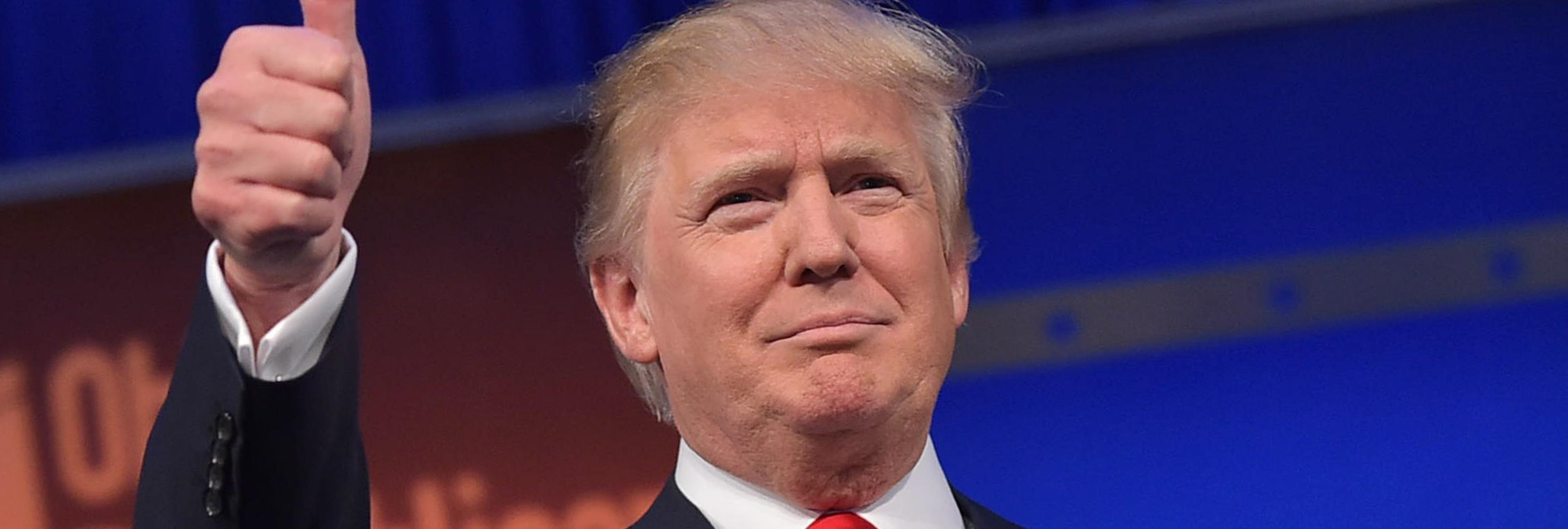 Una teoría conspiratoria asegura que Trump es un viajero del tiempo