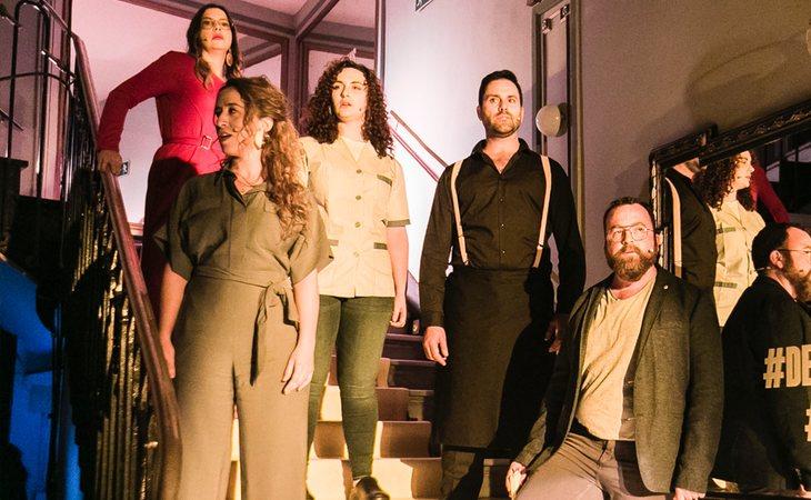 Número musical de 'De repente' en el Teatro Lara