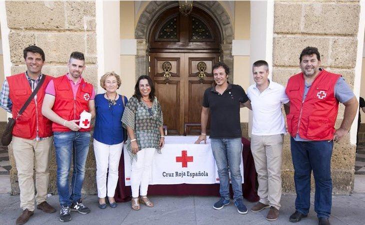 José María González ha donado parte de sus sueldo a asociaciones como Cruz Roja