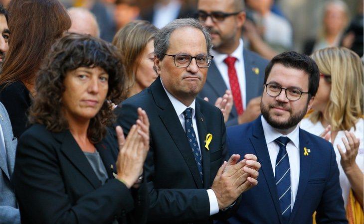 Quim Torra apuesta por mantener la vía dura de Puigdemont