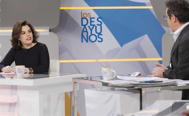 Sáenz de Santamaría decidía quines participaban en las tertulias de RTVE