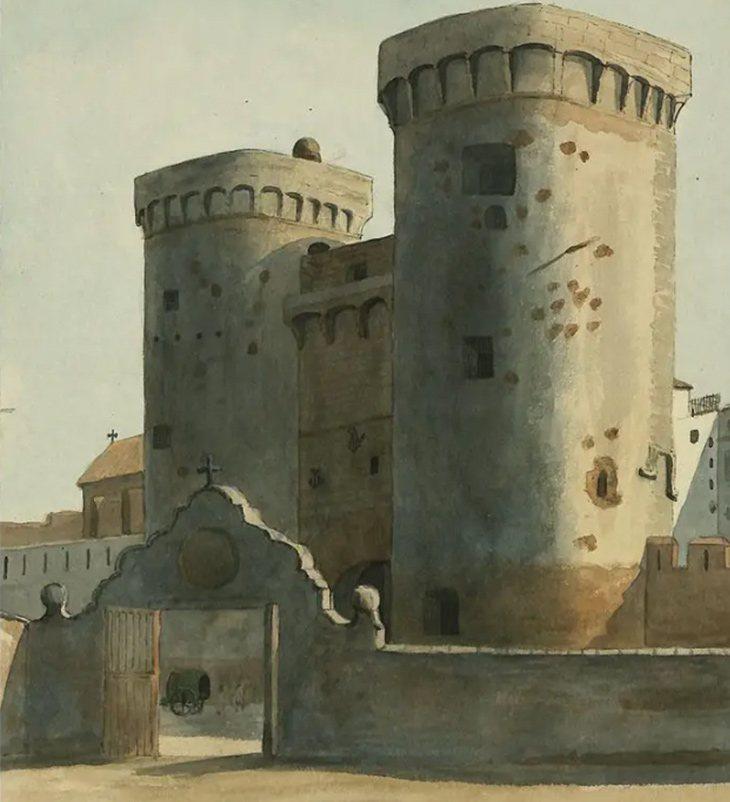 Puerta del Cid, Valencia (1831) | British Museum