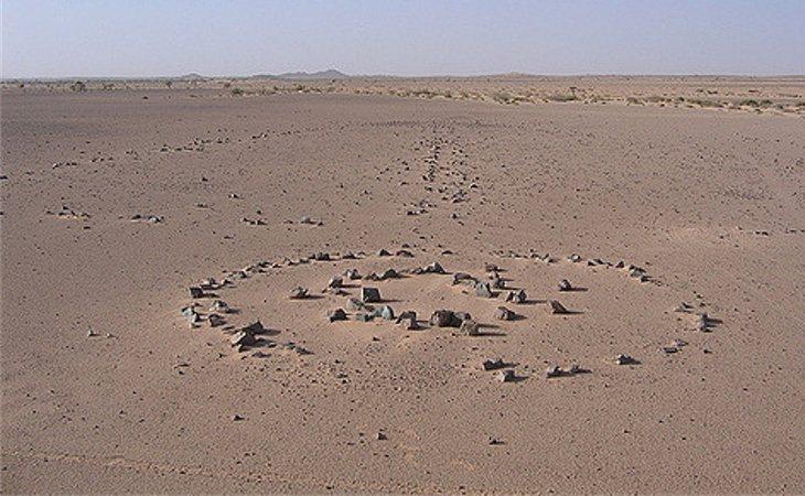 Las formaciones rocosas tienen miles de años de antigüedad