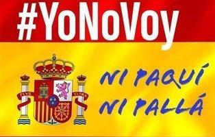 El #YoNoVoy a la manifestación del domingo triunfa en redes frente al #YoVoy de la derecha