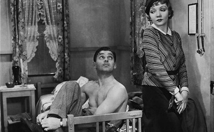 La escena de Clark Gable hizo descender las ventas de camisetas interiores