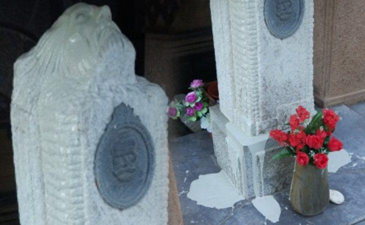 La tumba de Pablo Iglesuas, fundador del PSOE, atacada con pintura