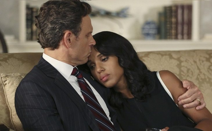 El presidente y Olivia en 'Scandal'