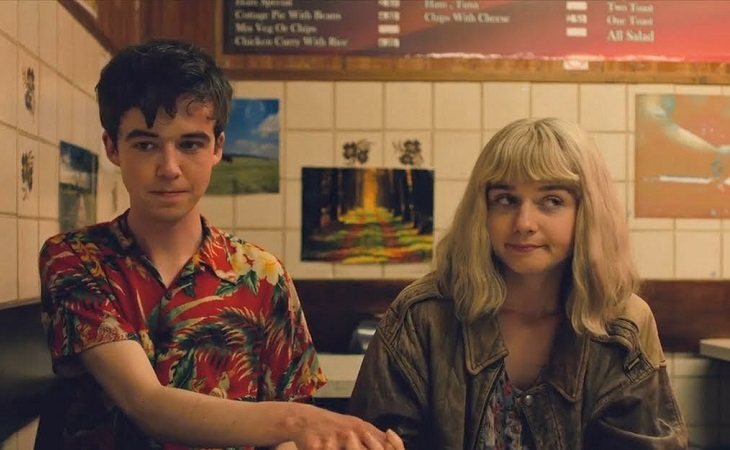 Alyssa y James 'The end of the F***ing World'