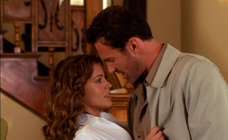 Phoebe y Cole en 'Embrujadas'