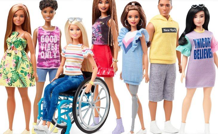 Mattel apuesta por la diversidad en sus Barbies