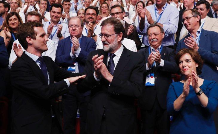 Rajoy ha abandonado su postura neutral en la sucesión del PP