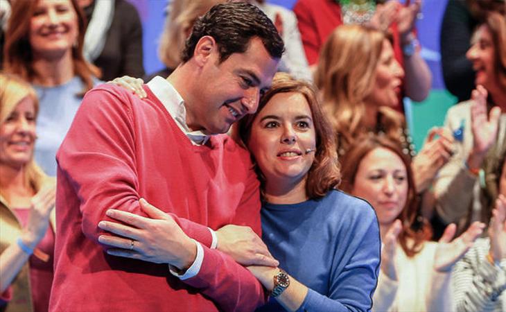 Juanma Moreno mantiene su apoyo cerrado a la exvicepresidenta