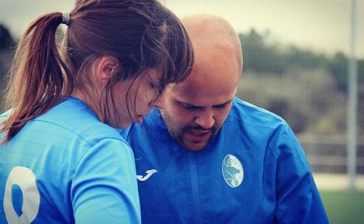 Alba Palacios, apasionada del fútbol
