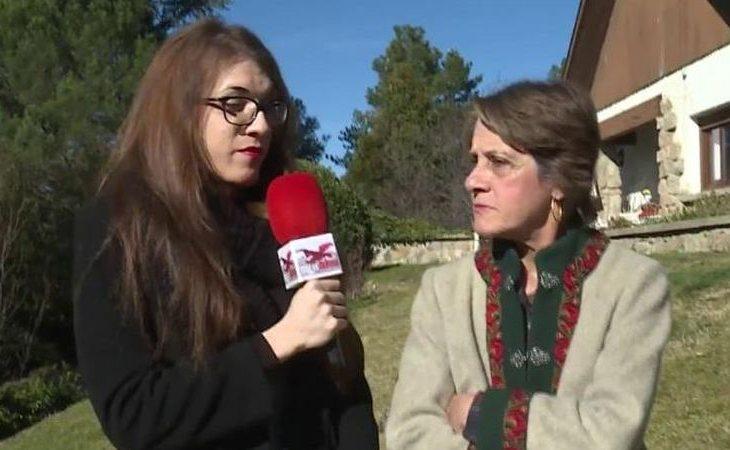 Pilar Gutiérrez, entrevistada por Elsa Ruiz, en 'Todo es Mentira'