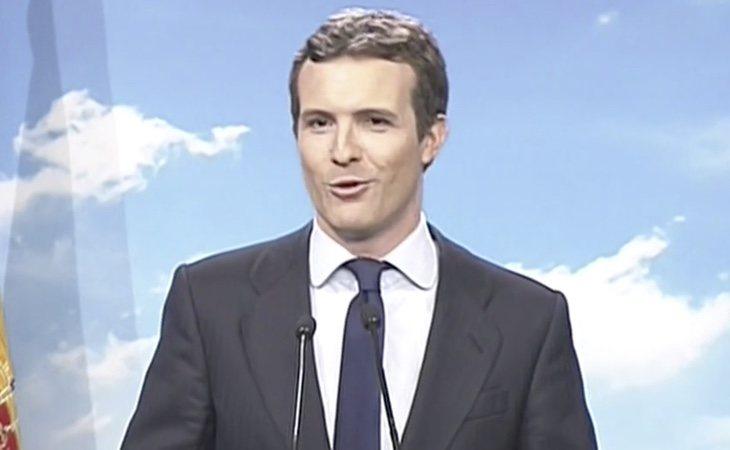Pablo Casado ha sido el primer líder de la oposición en pronunciarse sobre el adelanto electoral