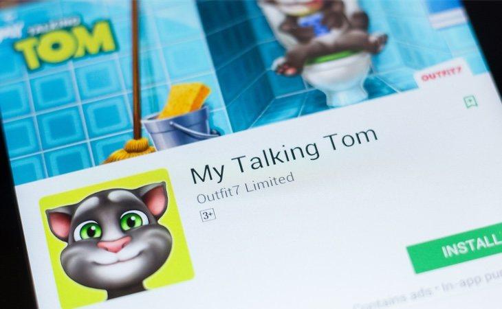 'Talking Tom' es una de las 17.000 aplicaciones que realizan prácticas ilegales